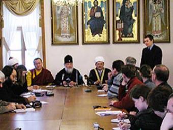 Межрелигиозный совет России. На одном из совещаний / источник: i-r-p.ru